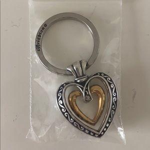NWT Brighton Heart Keychain